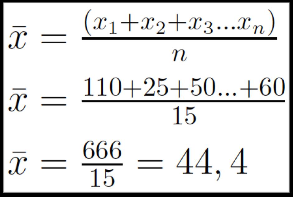 media aritmetica tcc